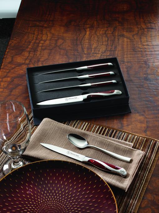 Hammer Stahl 4 Piece Steak Knife Set