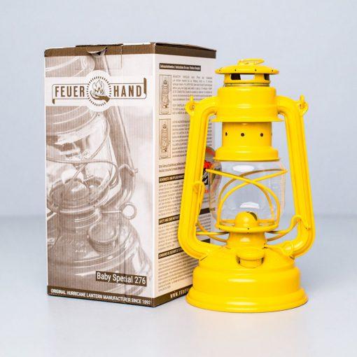 парафинова лампа Feuerhand Baby Special 276 Yellow