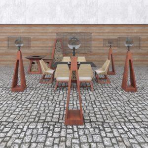 Луксозни Външни Мебели