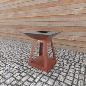 Kомпактен Грил-Огнище Quadro Air Mini Corten