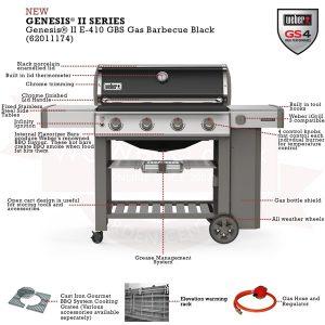Газово Барбекю Weber Genesis ІІ E-410 GBS