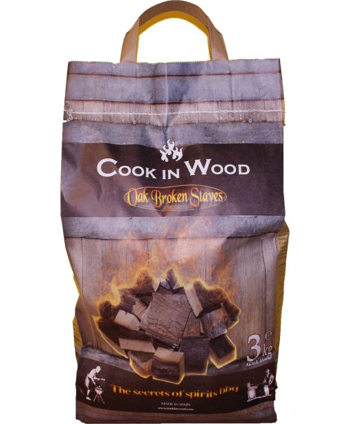 Дъбови Парчета за Опушване Oak Broken Staves BBQ 3kg