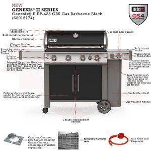 Барбекю На Газ Weber Genesis II EP-435 GBS