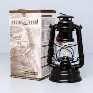 Газена лампа Feuerhand Baby Special 276 Jet Black